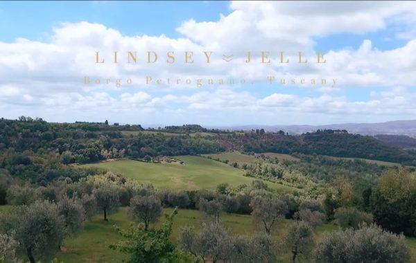 Lindsey & Jelle – Свадьба в Тоскане